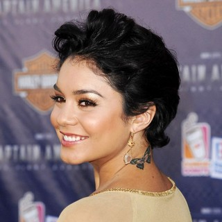 Vanessa Hudgens in Los Angeles Premiere of Captain America The First Avenger - Arrivals