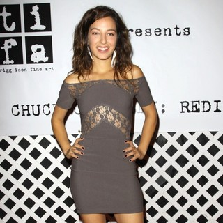 Vanessa Lengies in Trigg Ison Fine Art Presents The Contemporary West Coast Premiere of American Artist Chuck Connelly - vanessa-lengies-trigg-ison-fine-art-04