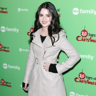 Vanessa Marano in ABC Family's 25 Days of Christmas Winter Wonderland Event