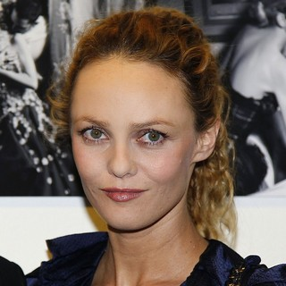 Vanessa Paradis in The Karl Lagerfeld Exhibition Launch