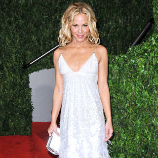 Maria Bello in The 82nd Annual Academy Awards (Oscars) - Vanity Fair Party - Arrivals