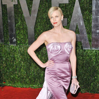 Charlize Theron in The 82nd Annual Academy Awards (Oscars) - Vanity Fair Party - Arrivals