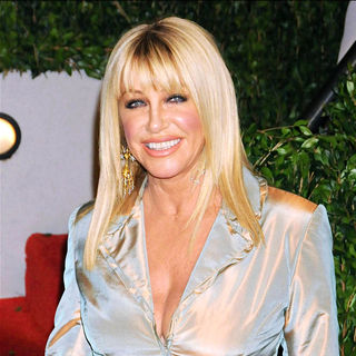 Suzanne Somers in The 82nd Annual Academy Awards (Oscars) - Vanity Fair Party - Arrivals