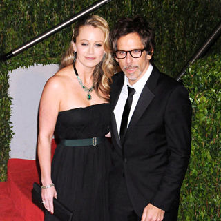 Christine Taylor, Ben Stiller in The 82nd Annual Academy Awards (Oscars) - Vanity Fair Party - Arrivals