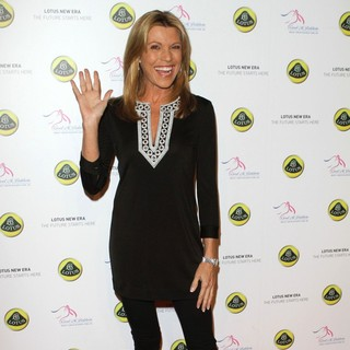 Vanna White in U.S. Launch Event for New Lotus Cars - vanna-white-u-s-lunch-event-for-new-lotus-cars-03