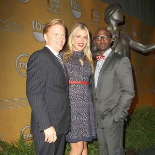 Ned Vaughn, Busy Philipps, Taye Diggs in 19th Annual Screen Actors Guild Awards Nominations Announcement