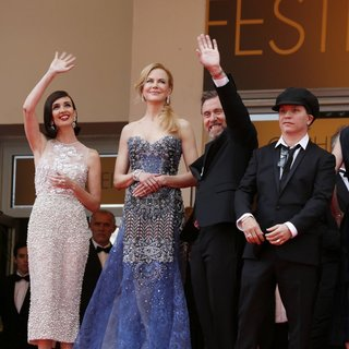 Paz Vega in 67th Cannes Film Festival - Opening Ceremony - vega-kidman-roth-dahan-67th-cannes-film-festival-02