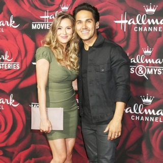 Alexa Vega, Carlos Pena Jr.-Hallmark Channel and Hallmark Movies and Mysteries Winter 2017 TCA Press Tour