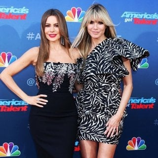 Sofia Vergara, Heidi Klum in America's Got Talent Season 15 Kickoff - Red Carpet