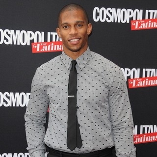 Victor Cruz in The Cosmopolitan for Latinas Premiere