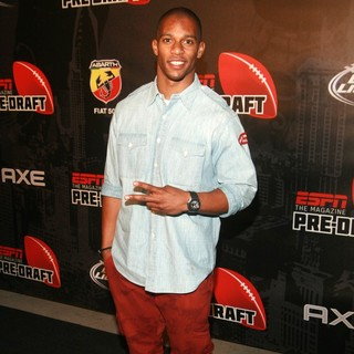 Victor Cruz in ESPN The Magazine Presents The Ninth Annual Pre-Draft Party