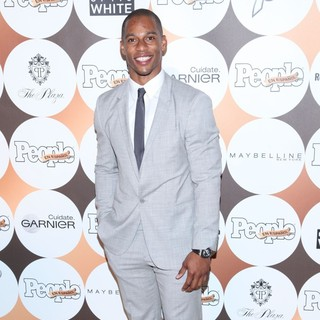 Victor Cruz in People En Espanol 50 Most Beautiful Gala