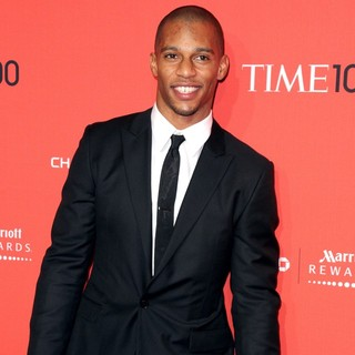 Victor Cruz in The Time 100 Gala - Inside Arrivals