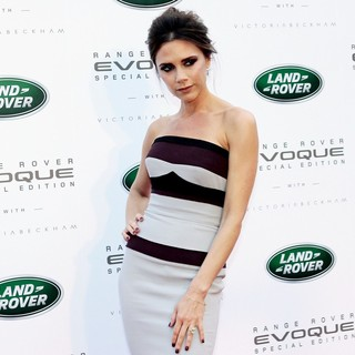 Victoria Adams in The Launch of Range Rover Evoque Special Edition
