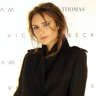 Victoria Adams in Victoria Beckham Promotes Her Collections