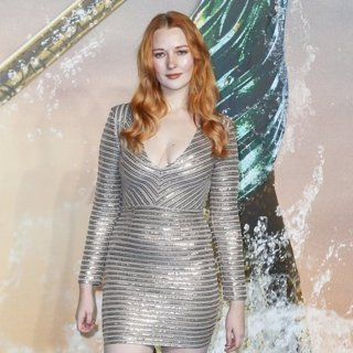 Victoria Clay in World Premiere of Aquaman - Arrivals