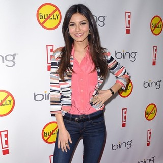Victoria Justice in Los Angeles Premiere of Bully