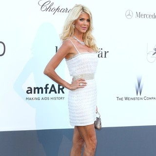 Victoria Silvstedt in 66th Cannes Film Festival - amfAR's 20th Annual Cinema Against AIDS - Arrivals