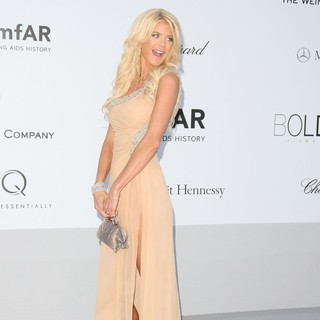 Victoria Silvstedt in AmfAR's Cinema Against AIDS Gala 2012 - During The 65th Annual Cannes Film Festival