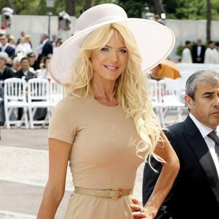 Victoria Silvstedt in Religious Ceremony of The Royal Wedding of Prince Albert II of Monaco to Charlene Wittstock