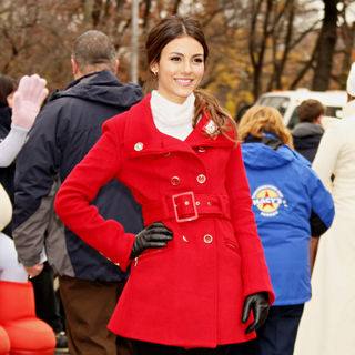 Victoria Justice in 84th Macy's Thanksgiving Day Parade