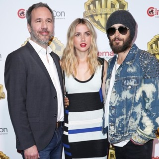 Denis Villeneuve, Ana de Armas, Jared Leto in CinemaCon 2017 - Warner Bros. - Red Carpet Arrivals