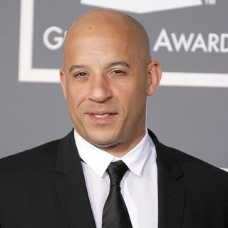 Vin Diesel in 55th Annual GRAMMY Awards - Arrivals