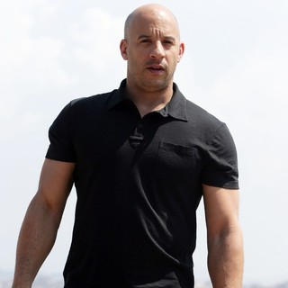 Vin Diesel in A Photocall for Movie Fast and Furious 5: Rio Heist