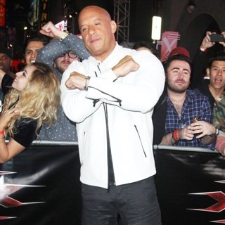Vin Diesel-XXX: Return of Xander Cage Premiere