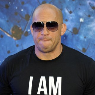 Vin Diesel - UK Premiere of Guardians of the Galaxy - Arrivals