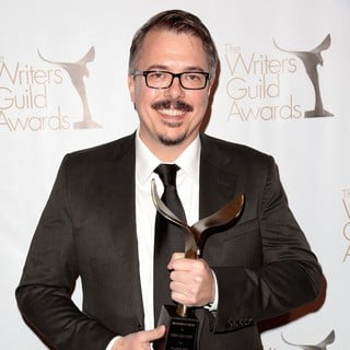 Vince Gilligan in 2013 Writers Guild Awards - Press Room