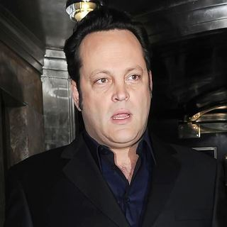 Vince Vaughn in Vince Vaughn Leaving His London Hotel