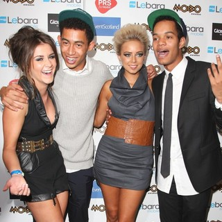 Brooke Vincent, Rizzle Kicks, Sacha Parkinson in The MOBO Awards 2011 - Press Room