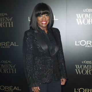 Viola Davis in L'Oreal Paris Hosts 14th Annual Women of Worth Awards