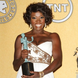 Viola Davis in The 18th Annual Screen Actors Guild Awards - Press Room
