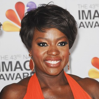 Viola Davis in The 43rd Annual NAACP Awards - Arrivals