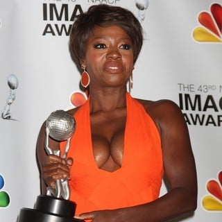 Viola Davis in The 43rd Annual NAACP Awards - Press Room