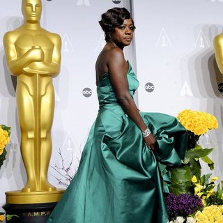 Viola Davis in The 86th Annual Oscars - Press Room