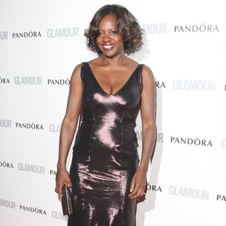 Viola Davis in The Glamour Women of The Year Awards 2012 - Arrivals