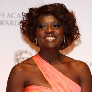 Viola Davis in Orange British Academy Film Awards 2012 - Press Room