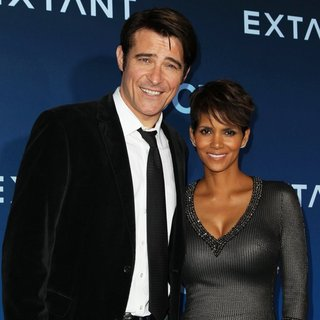 Goran Visnjic, Halle Berry in CBS Television Presents Extant Premiere Party