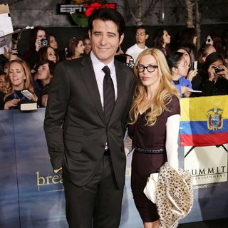 Goran Visnjic, Ivana Vrdoljak in The Premiere of The Twilight Saga's Breaking Dawn Part II