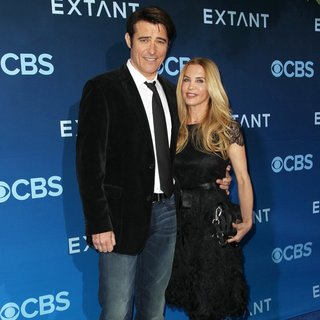 Goran Visnjic, Ivana Vrdoljak in CBS Television Presents Extant Premiere Party