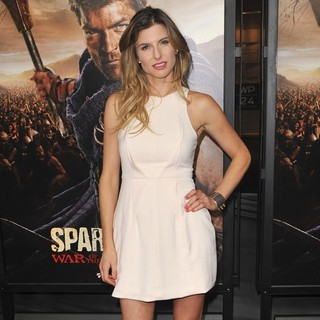 Viva Bianca in U.S. Premiere Screening of Spartacus: War of the Damned
