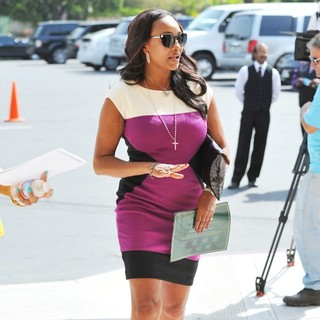 Vivica A. Fox in The Funeral of Michael Clarke Duncan