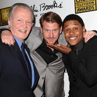 Jon Voight, Dash Mihok, Pooch Hall in Broadcast Television Journalists Association's 3rd Annual Critics' Choice Television Awards
