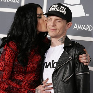 Kat Von D, Deadmau5 in 55th Annual GRAMMY Awards - Arrivals