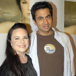 Jenna Von Oy, Kal Penn in The Jenna Von Oy Breathing Room Album Release Party