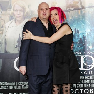 Andy Wachowski, Lana Wachowski in The Cloud Atlas Los Angeles Premiere