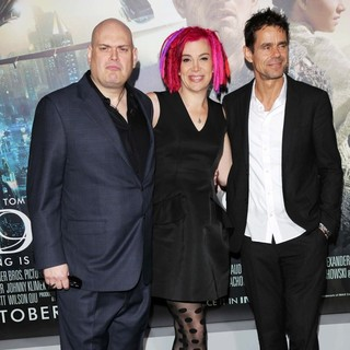 Andy Wachowski, Lana Wachowski, Tom Tykwer in The Cloud Atlas Los Angeles Premiere